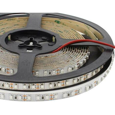Tira LED UV Ultravioleta SMD3528, DC12V, 5m (120 Led/m) - IP20, Luz ultravioleta