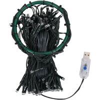 Tira luces 180 LED árbol navidad interior y exterior IP44 180cm