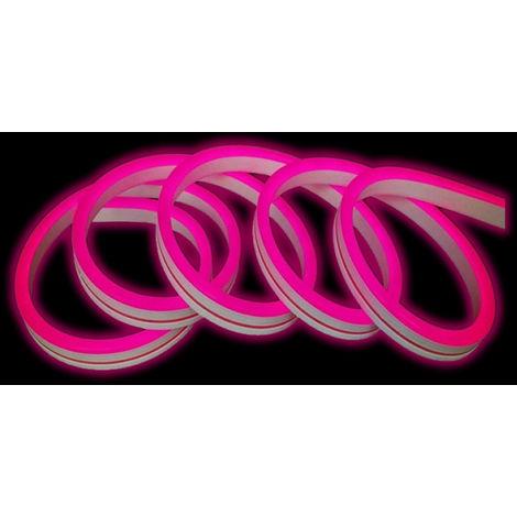 Tira neon 24v ip65 rosa 9w / 1 metro ry