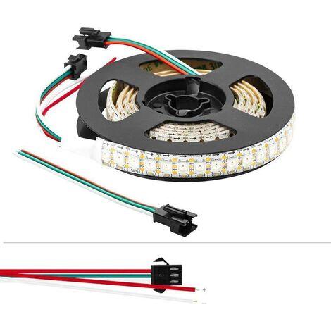 Tiras LED inteligente IC 5V/DC 2 metros IP20 144ch/m