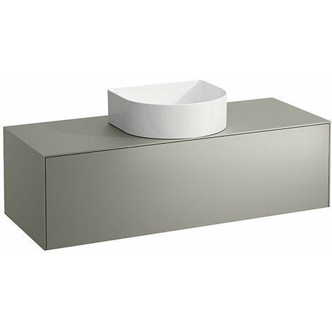 Tiroir Sonar courant, 1 tiroir, adapté aux cuvettes des lavabos 812340, 812341, 812342, 812343, découpe au milieu pour le lavabo, Coloris: Or/ Nero Marquina - H4054210341401