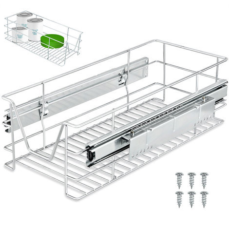Tiroir Telescopique Rangement Armoire Cuisine Refrigerateur