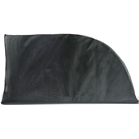 """main image of """"TIROL 2 uds parasol de ventana de coche ajustable parasol de proteccion UV cubierta de malla visera parasol, El 126cm los x 52cm"""""""