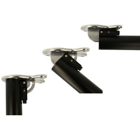Tischbein 870mm Höhe abklappbar aus Metall Tischstempel Tischstütze Möbelbein