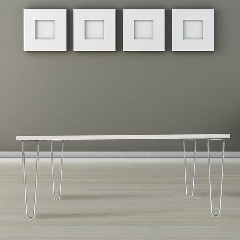 Tischbeine 4er Set Hairpin Leg Haarnadelbeine Tischgestell Tisch Tischkufen Legs Esstisch Harpins Tischbein 2 Streben Stahl