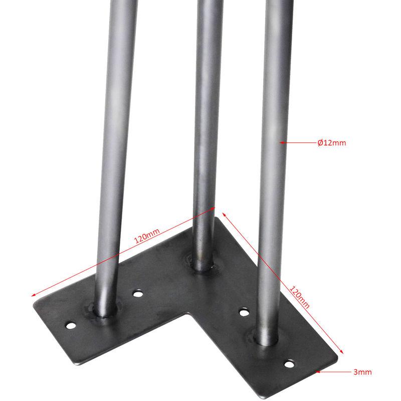 Tischbeine Hairpin Legs Tischgestell 4er Set Tischkufen