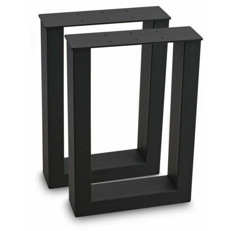 Tischbeine Tischkufen Tischgestell Tischuntergestell Stahl Metall