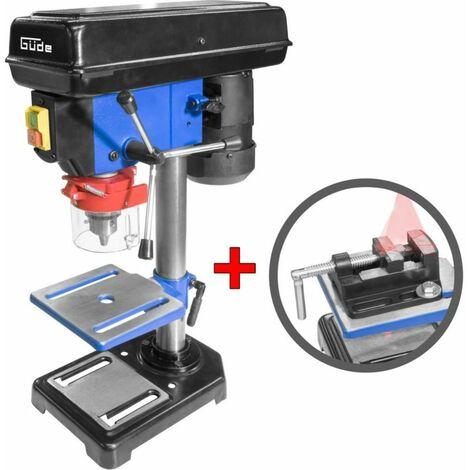 Tischbohrmaschine GTB16 mit Laser & Schraubstock