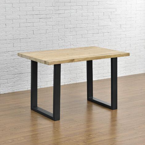 Tischgestell Tischuntergestell Tischkufen Tischbein 60x72cm Schwarz - 2 Stück