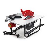 Tischkreissäge 800W 0-45° schwenkbar verstellbarer Parallelanschlag 2950 U/min