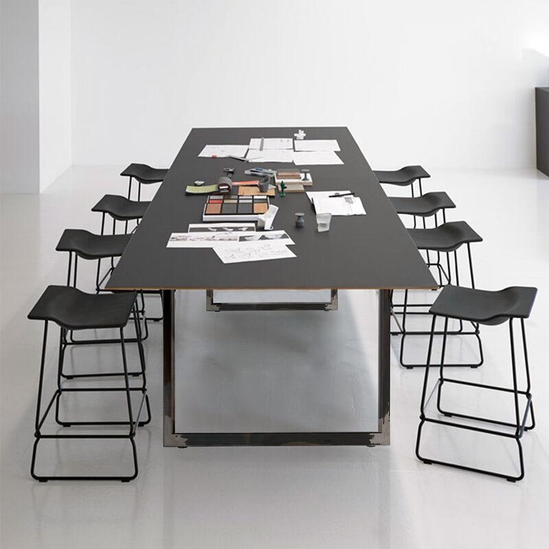 2 Stück Tischbeine Rechteck Tischkufen Stabil Tischuntergestell für Esstisch DIY