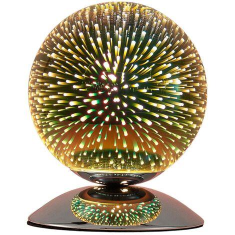 Tischlampe Isumi in Kugelform