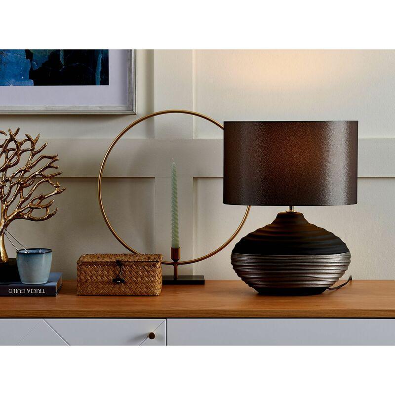 Tischleuchte grau 42 cm LIMA