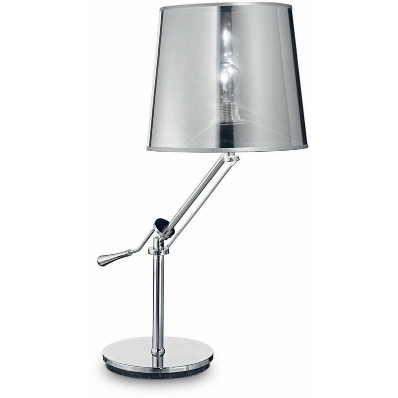 Tischleuchte Chrom REGOL 1 Glühlampe