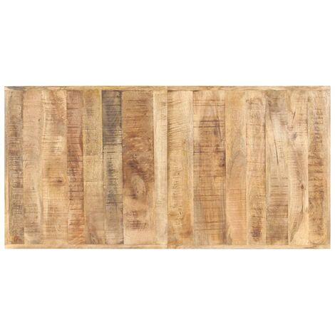 Tischplatte Massivholz Mango 16 mm 140 x 70 cm