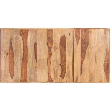 Tischplatte Massivholz Palisander 16 mm 160 x 80 cm