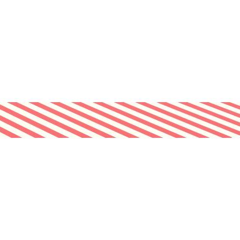 Tissu d'auvent toile rayure rouge blanc store banne 3X2m
