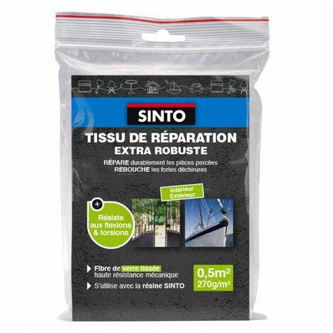 Tissu de réparation en fibre de verre tissée - 0,5 ou 1m² - Sinto - plusieurs modèles disponibles