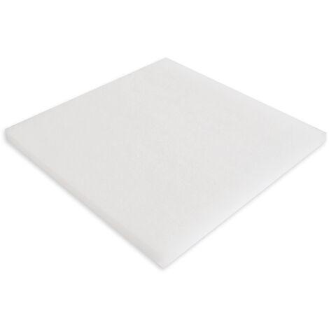 Tissu filtrant Synfil 300 100x100x2.5cm très fin blanc pour filtre bassin et aquarium