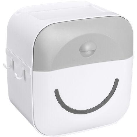 Tissue Holder Wandregal Papierrohr Aufbewahrungsbox Grau Hasaki
