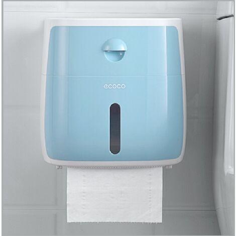 Tissue Storage Drawer Box Toilet Wall Mounted Paper Holder pink