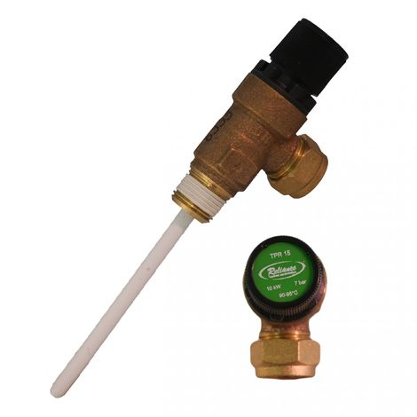 Titan Plastech - 7 Bar Pressure And Temperature Relief Valve UVPTVVALVE