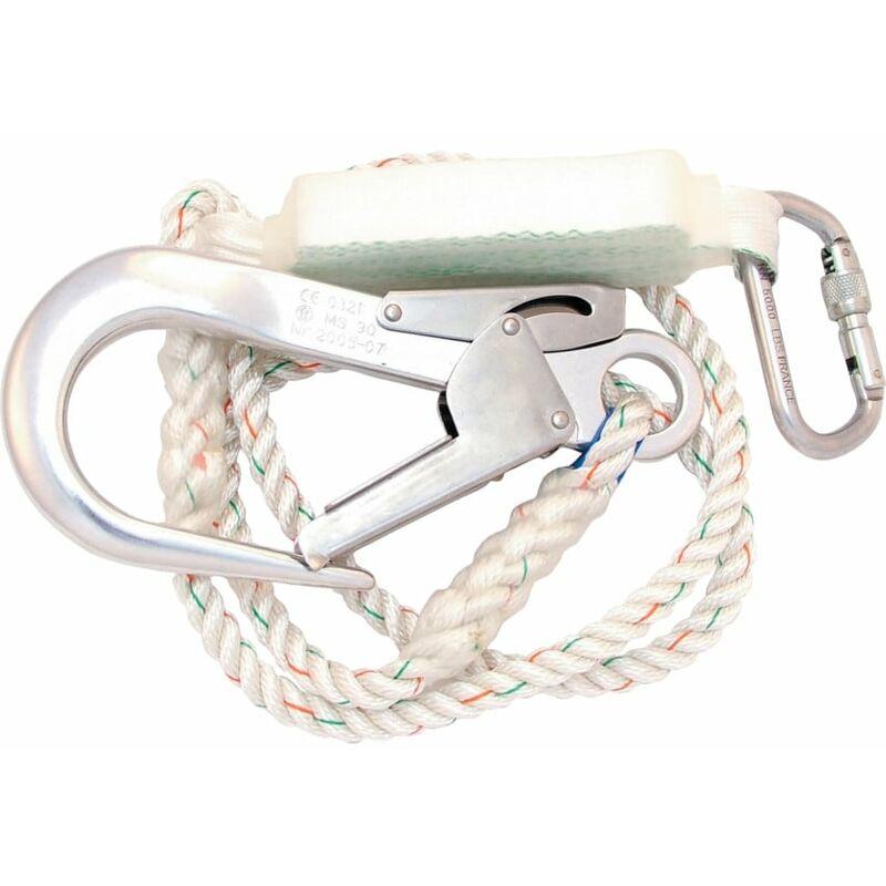 Image of 1008281 Titan C3 Shock Absorbing Rope Lanyard 2.0M - Honeywell Miller