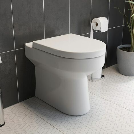 Tivoli Back To Wall Toilet & Soft Close Seat