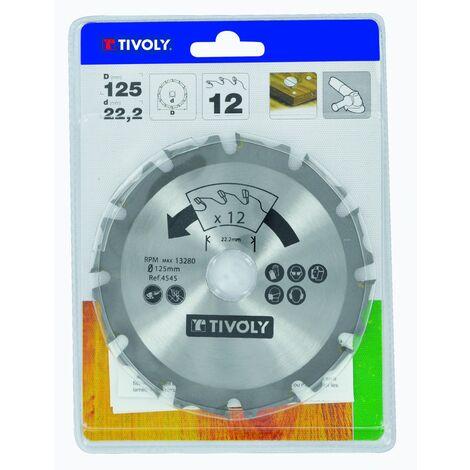 TIVOLY - Disque pour meuleuse angulaire - 125 mm