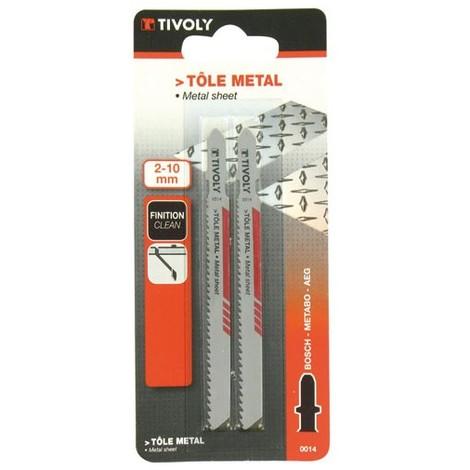 TIVOLY - Lame scie sauteuse tôle et métal - Bosch
