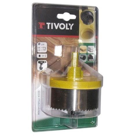 TIVOLY - Scie cloche 5 lames - 28 à 75 mm