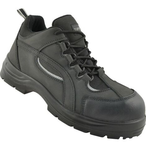TMF Black Safety Trainers