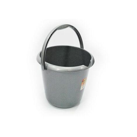 TML THW22-S Household Plastic Bucket Silver 13 Litre