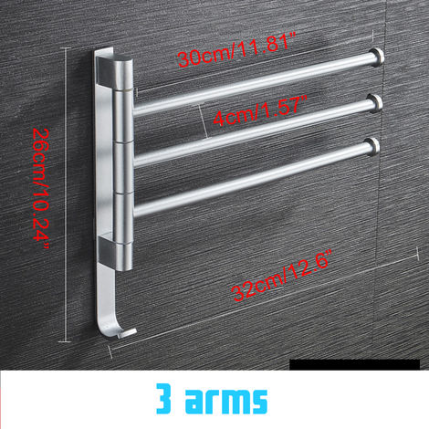 Toalla de aluminio Toalla Colgante Toalla Baño Hasaki