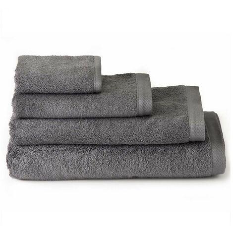 Toalla de ducha algodón gris (70x140)