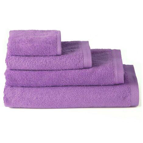 Toalla de ducha algodón lila (70x140)
