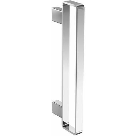 Toallero alto Emco, vertical, 400 mm, cromado - 055000140