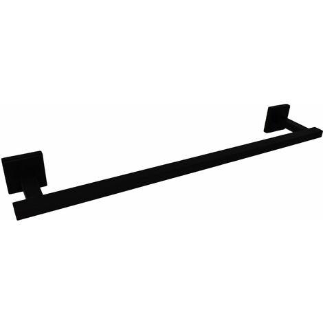 "main image of ""Toallero cuadrado 40 cm modelo negro mate Capannoli Nook NK140 MM"""