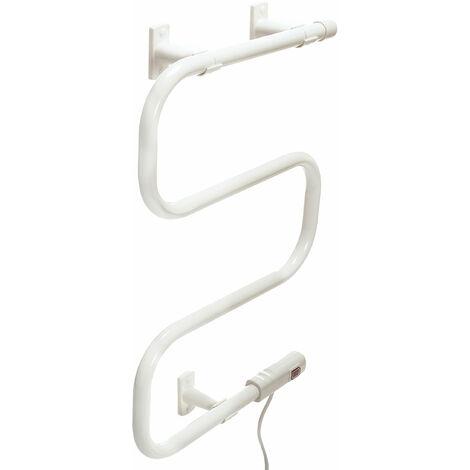 Toallero Eléctrico de Acero Bajo Consumo Blanco NTW-01