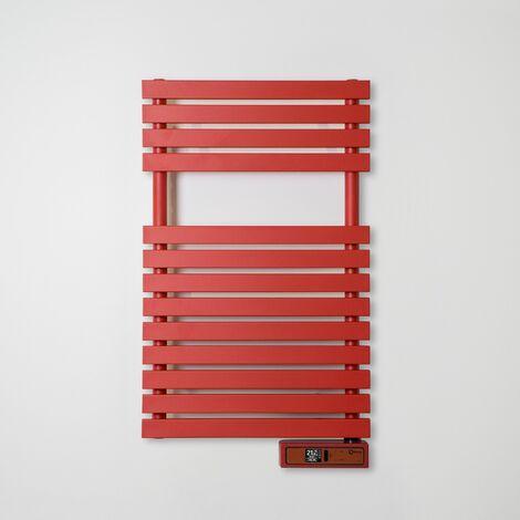 Toallero Eléctrico Rointe Serie D RAL 3000 FLAME RED Texturizado