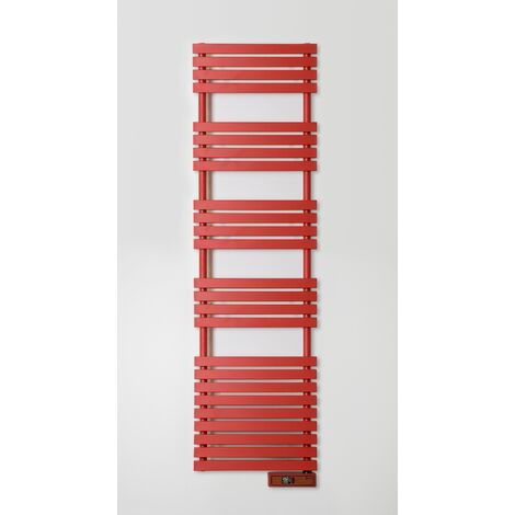 Toallero Eléctrico Rointe Serie D RAL 3000 FLAME RED Texturizado - 750W - FLAME RED