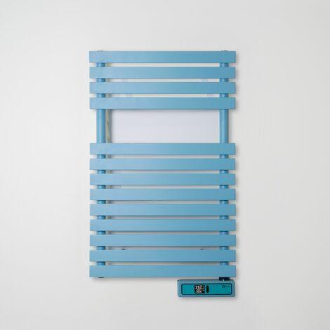 Toallero Eléctrico Rointe Serie D RAL 5024 PASTEL BLUE Texturizado