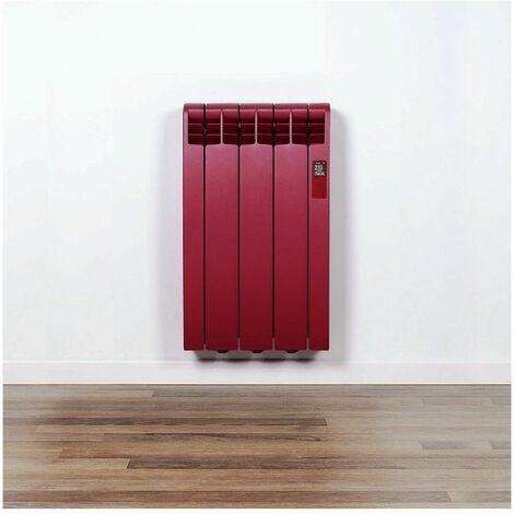 Radiador electrico Rointe DNR03R3032T Designline Pearl Ruby Red 3 modulos 330W (RAL 3032)