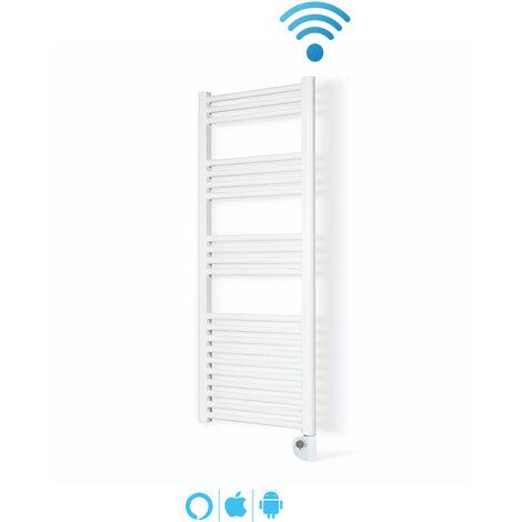 Toallero Electrico Wi-Fi IBIZA Blanco 750W • Compatible con iOS y Android • Alexa y Google Home