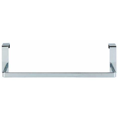 Toallero puerta Lenta cromo 25 cm