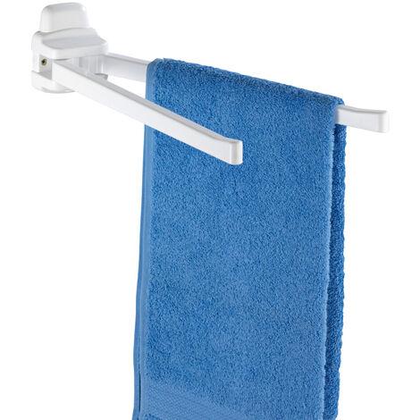 Toallero Pure con 2 brazos móviles WENKO