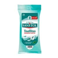 Toallitas desinfeccion multi. sanytol 24 ud