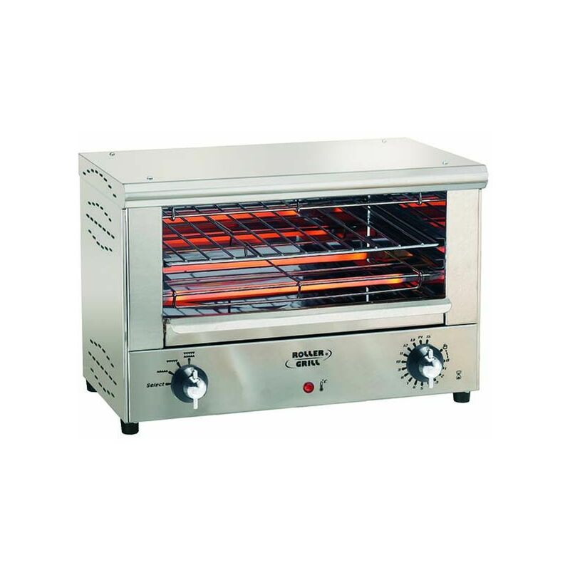 Toaster quartz infrarouge inox Inox - Roller Grill