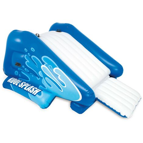 Toboggan gonflable Intex 58849 pour piscines WATER SLIDE