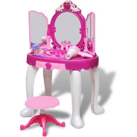 Tocador espejo de juguete con luz y sonido